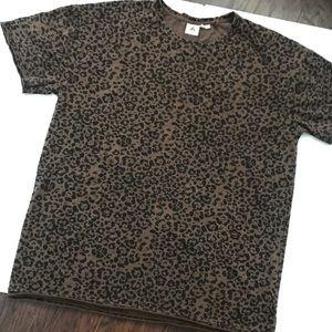 🔵 3 for $15 - Leopard Print Short Sleeve Tee